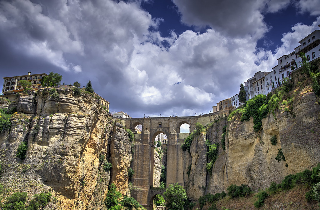 Postal de Ronda... | Post Card of Ronda...