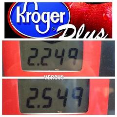One reason to shop @Kroger! #Kroger plus points give you fuel discounts!