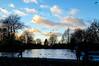 Alexandra Palace Pond by Sunset