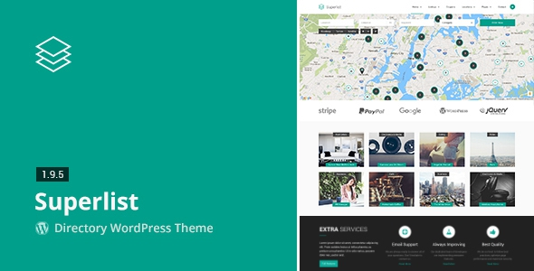 Superlist v1.9.5 - Directory WordPress Theme