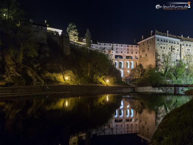Castle bridge reflections