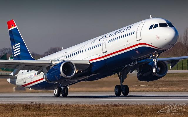 US Airways Airbus A321-200 - D-AVZL (N576UW) - Hamburg-Finkenwerder (XFW/EDHI) - 12/03/2014
