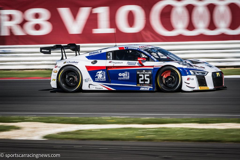 SAINTeLOC Racing Audi R8 LMS Blancpain Endurance Series Silverstone 2016 Sportscar  Racing News