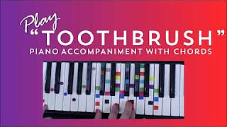 How To Play Toothbrush On Piano - DNCE Piano Tutorial