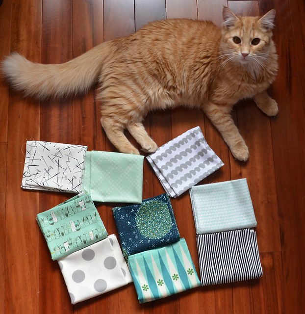 Mad About Patchwork's she can quilt blogger's bundle