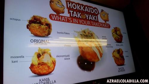 Hokkaido Takoyaki in SM Makati