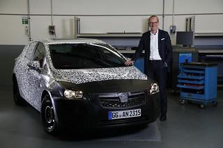 Opel Astra K Erlkönig