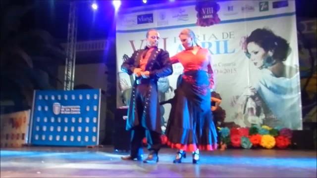 Ballet Embrujo y Magia de Yor-El 1 VIII Feria Abril Las Palmas de Gran Canaria