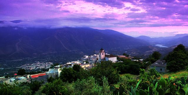 Cáñar y en el valle Órgiva