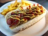 Hot dog with cips