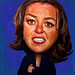 Rosie O'DonnelCaricature by eyecmore