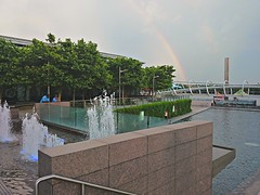 Yards park rainbow