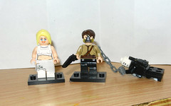 LEGO CUSTOM The Dag and 'Blood Bag' Max (with Nux) from Mad Max: Fury Road