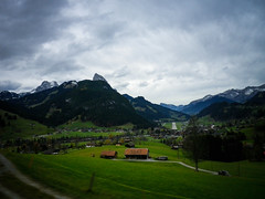 Swiss countryside and 1867 farmhouse