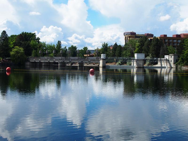 Spokane River Dam
