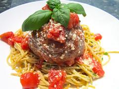 Hans' Giant Balls – Italian Meatballs With Spaghetti Aglio E Burro