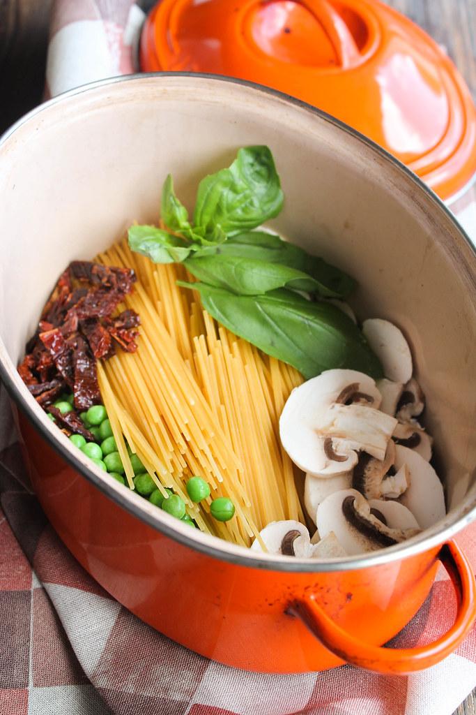 One pot pasta recette
