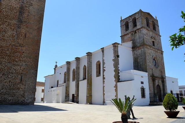 Iglesia de Santa María del Castillo en Olivenza