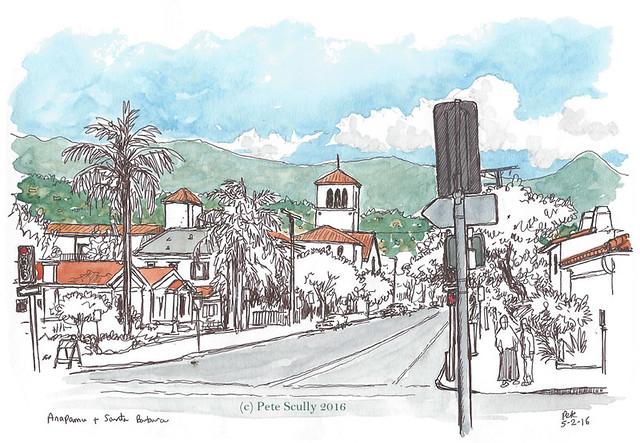 Santa Barbara Anapamu St