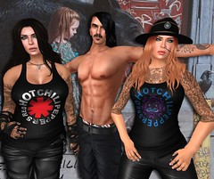 Red Hot Chili Peppers in Second Life