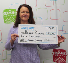Bonnie Peterson - $50,000 Slingo Madness