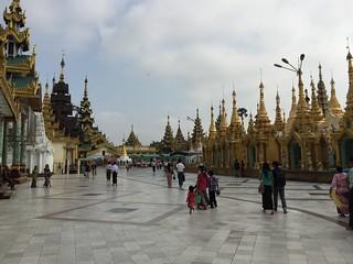 Image of Shwedagon Pagoda near Shwedagon Pagoda.