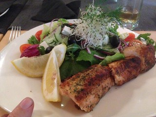 Salmon at Locomotiva