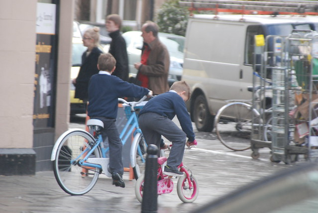 Kids love bikes