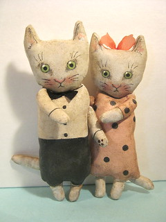 cat art dolls , sandy mastroni