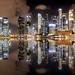Small photo of Singapore Skyline, Night
