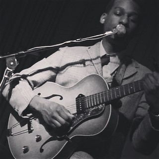 Leon Bridges / Hotel Cafe / LA / 24 February 2015