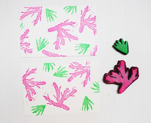 Handcarved Stamps