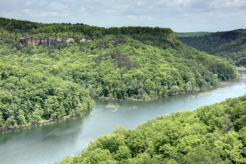 London Dock overlook, Rockcastle River, Daniel Boone National Forest, Laurel County, Kentucky 1