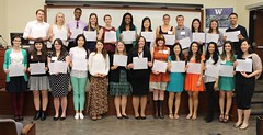 Scholarship Ceremony - group