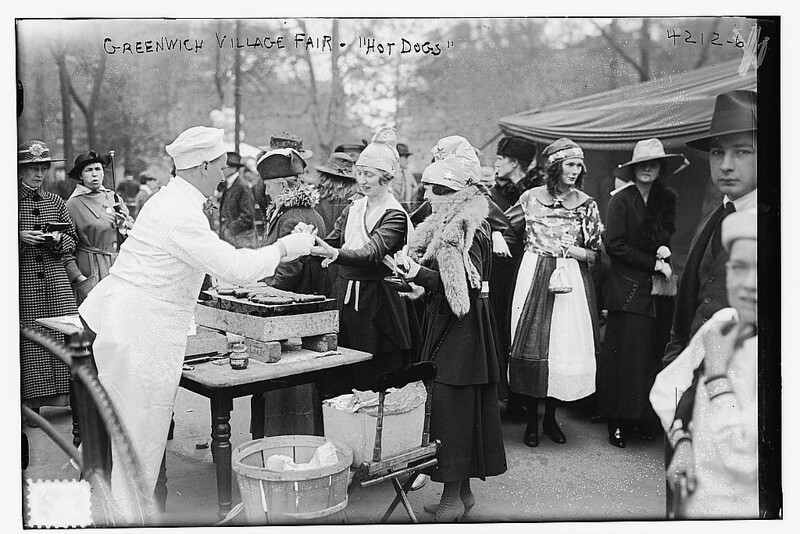 "Greenwich Village Fair ""Hot Dogs"" (LOC)"