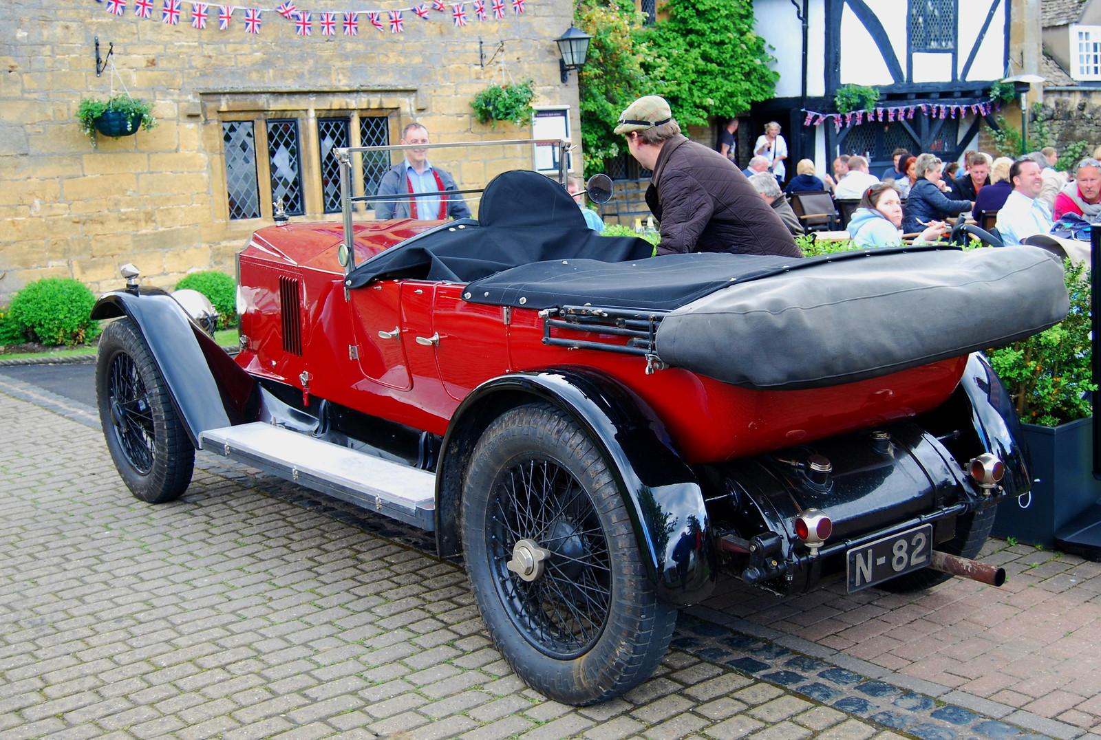 1924 Vintage Vauxhall. Credit Roland Turner