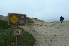 Bodega Bay - Bodega Head Warning sign