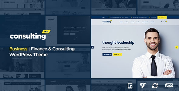 Consulting v3.3 – Business, Finance WordPress Theme