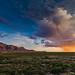 Big Bend National Park   Chisos Mountains Sunset by Erik R Walker