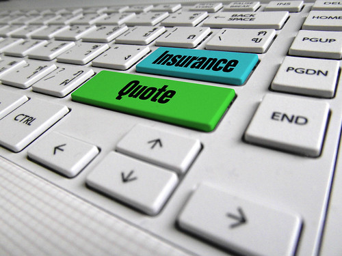 Insurance Quote Keyboard Button