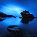 Bonsai Rock Blues by Andrew Louie Photography