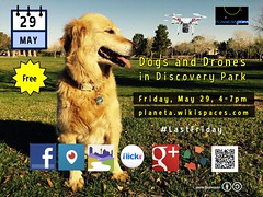 Free Meetup May 29 Dogs and Drones in #DiscoveryPark @cityofhenderson @Visit_Henderson @mypublib @localtravels @getlocalflavor #periscope