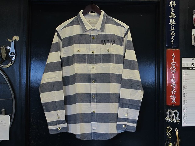 REW10 Prisoner work shirts