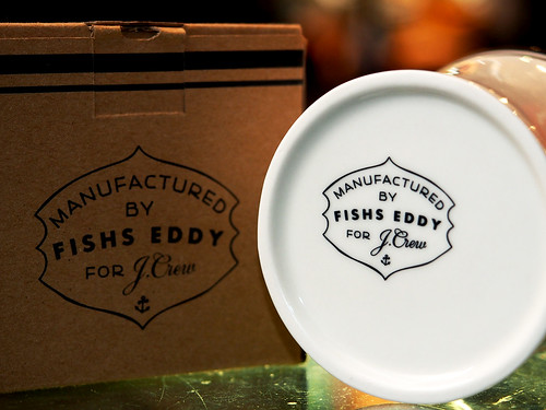 Fishs Eddy for J.Crew / Ceramic Anchor Mug