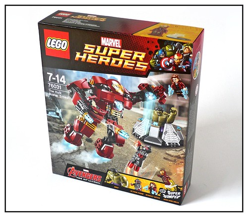 LEGO 76031 The Hulk Buster Smash box01