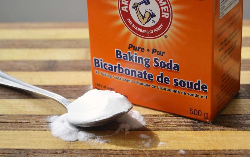 baking soda exfoliate skin skincare
