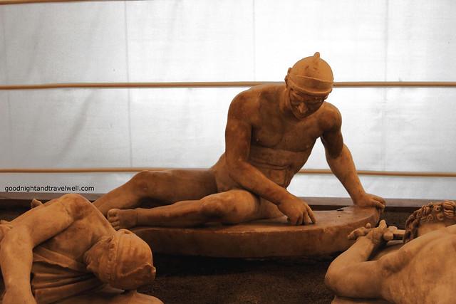 Napoli - Museo Archeologico Piccolo donario pergameno 1