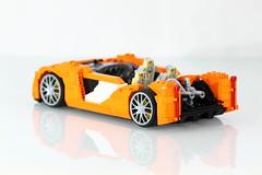 WIP - LEGO ReBrick McLaren