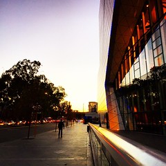 The Arena, a couple of evenings ago in #Perth  #perthcity #perthisok #perthlife #sunset #iphoneonly