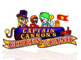 Online Captain Cannon's Circus of Cash Slots Review
